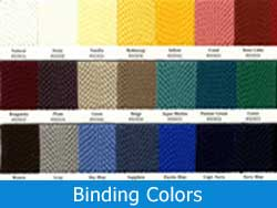 Binding Colors